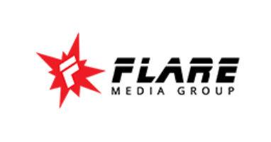 flare media group logo