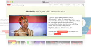 where to watch TED Talks