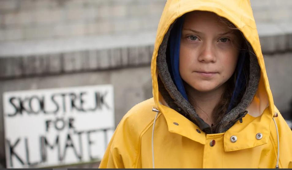 Greta Thunberg's TED Talk